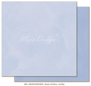 MAJA DESIGN Monochromes Shades of Sofiero Air sky