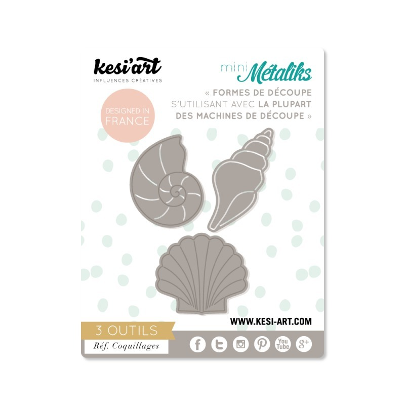 Kesi'Art Metaliks Seashells