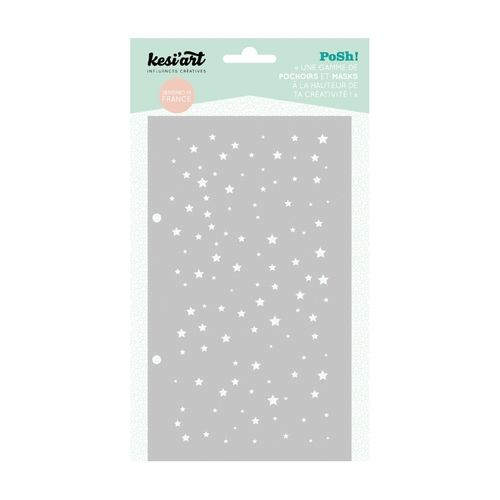 Kesi'Art Posh Starry pattern