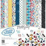 MODASCRAP - PAPER PACK BACK TO SCHOOL 12X12""