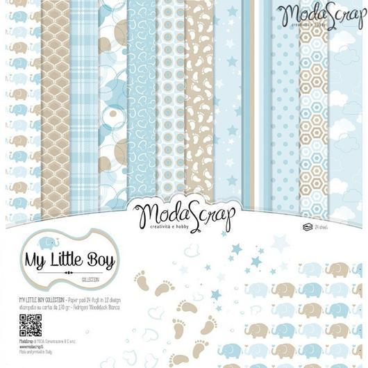 MODASCRAP - PAPER PACK MY LITTLE BOY 12X12""