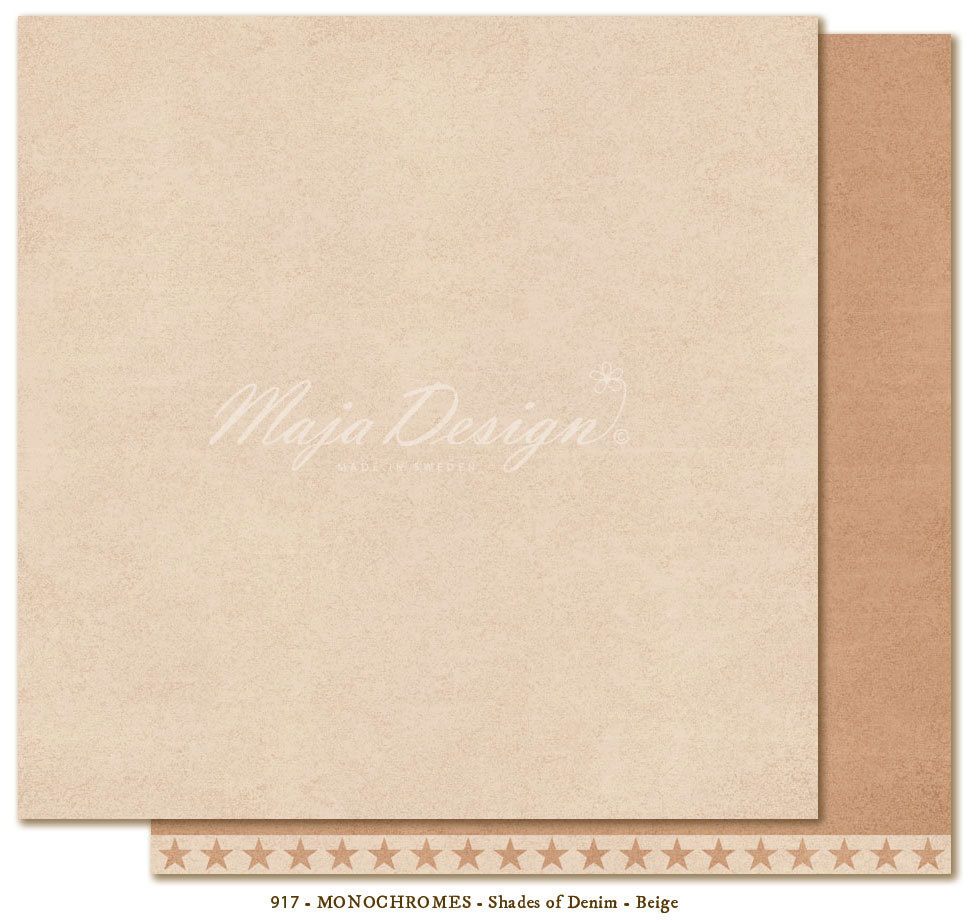 MAJA DESIGN  Monochromes Shades of Denim Beige