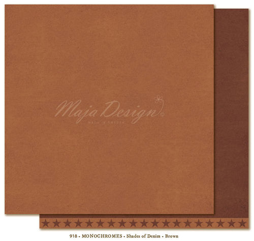 MAJA DESIGN Monochromes Shades of Denim Brown