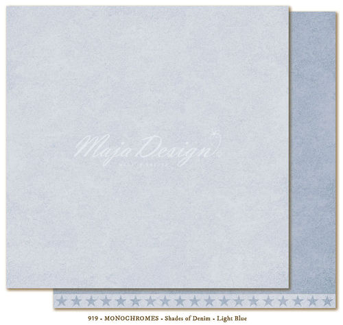 MAJA DESIGN Monochromes Shades of Denim Light Blue