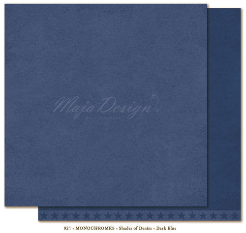 MAJA DESIGN Monochromes Shades of Denim Dark Blue