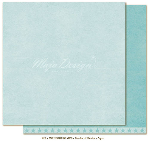 MAJA DESIGN Monochromes Shades of Denim Aqua