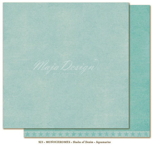 MAJA DESIGN Monochromes - Shades of Denim Aquamarine