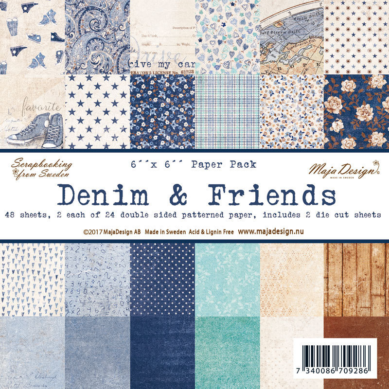 MAJA DESIGN Denim & Friends - Paper Pack