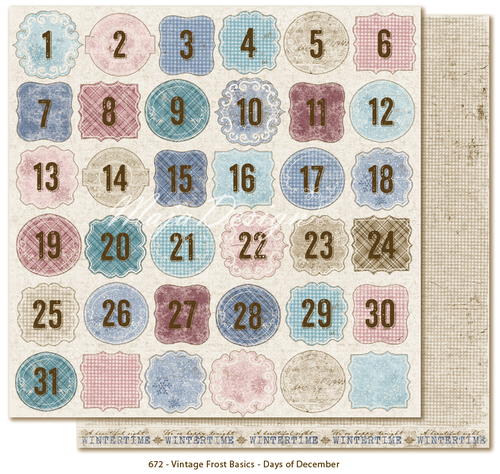 MAJA DESIGN Vintage Frost Basics - Days of remember