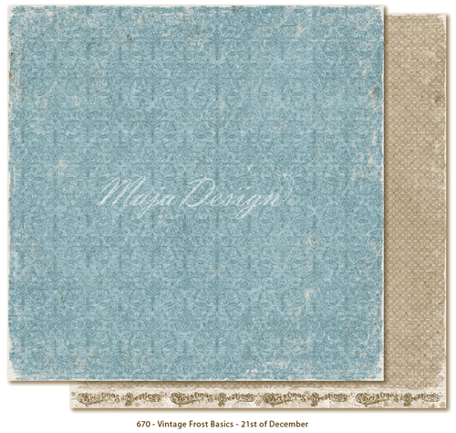 MAJA DESIGN Vintage Frost Basics - 21st of Dec