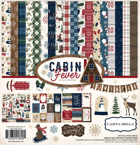 CARTA BELLA Cabin Fever  Collection Kit- CBCF73016