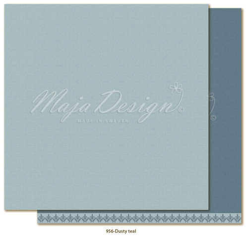 MAJA DESIGN Mono - Shades of Winterdays - Dusty teal
