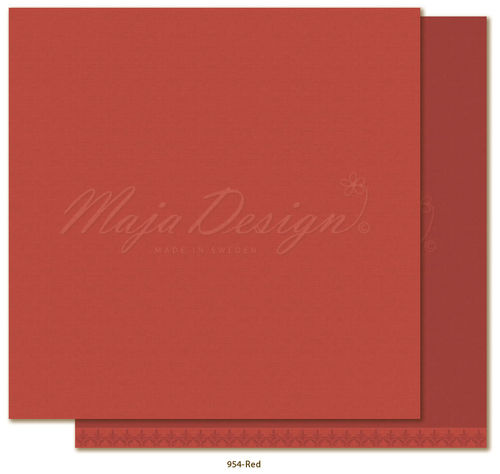 MAJA DESIGN Mono - Shades of Winterdays - Red