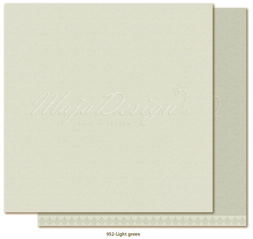 MAJA DESIGN Mono Shades of Winterdays - Light Green