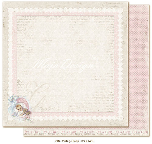 MAJA DESIGN Vintage Baby - It's a girl