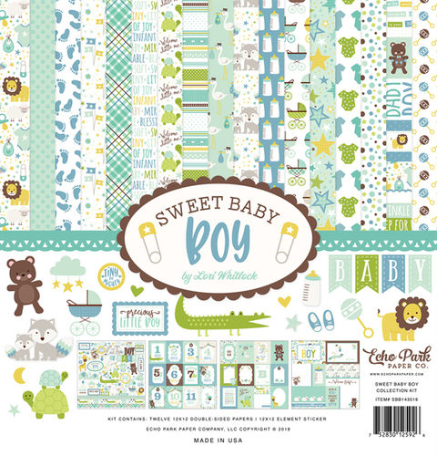 ECHO PARK - Sweet Baby Boy Collection Kit