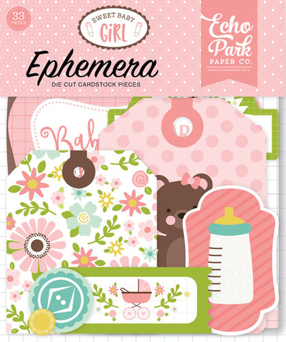 ECHO PARK - Sweet Baby Girl  Ephemera