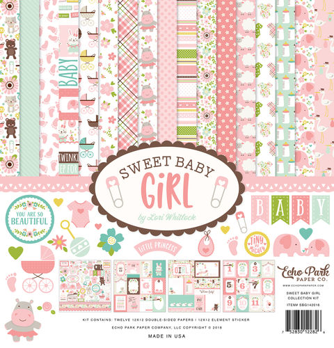 ECHO PARK - Sweet Baby Girl Collection Kit