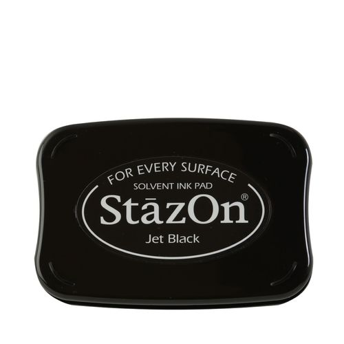 STAZON -  Inkpad jet BLACK