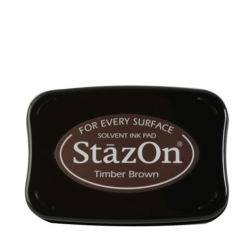 STAZON -  Inkpad jet TRIMBER BROWN