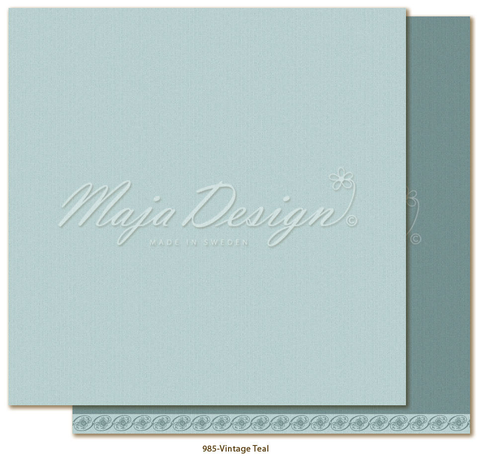 MAJA DESIGN   985 Shades of Celebration Vintage Teal