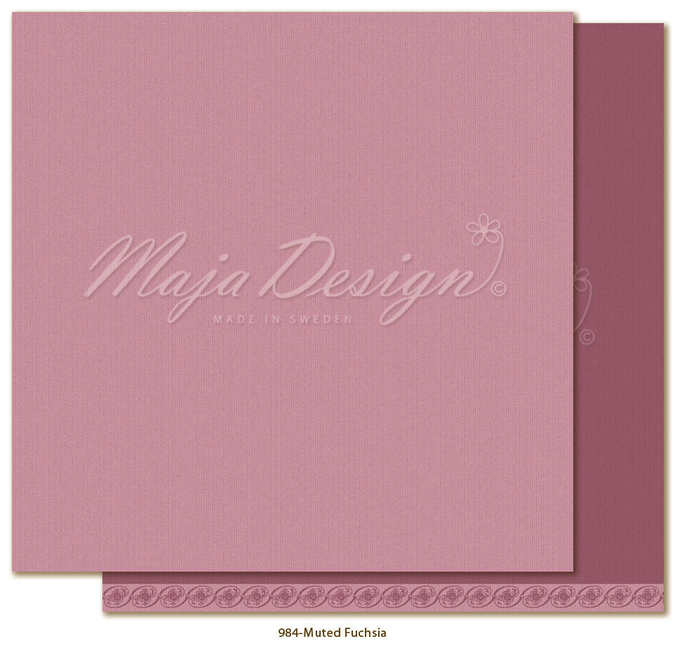 MAJA DESIGN  984 Shades of Celebration Muted Fuchsia