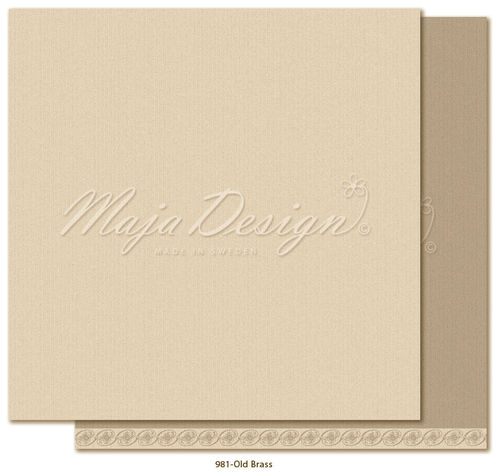 MAJA DESIGN  981 Shades of Celebration Old Brass