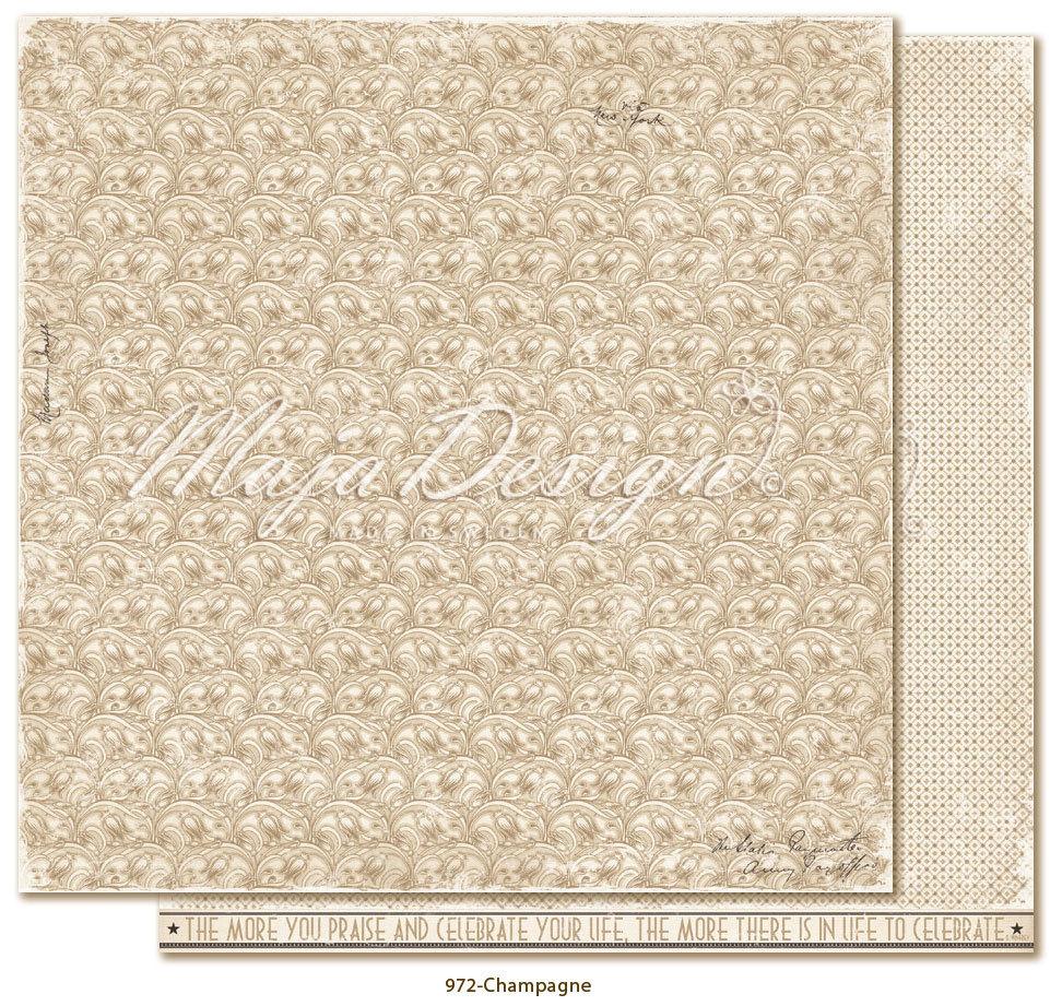 MAJA DESIGN 972 Celebration - Champagne
