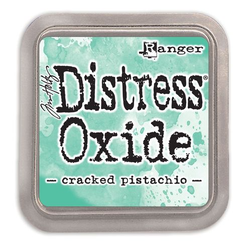 Tim Holtz distress OXIDE cracked pistachio