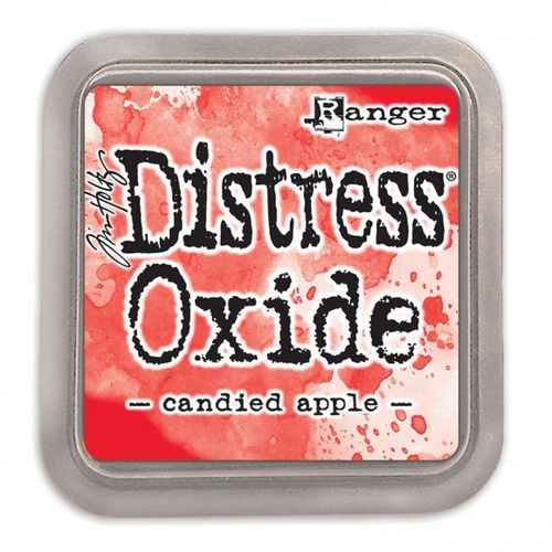Tim Holtz distress OXIDE candied apple