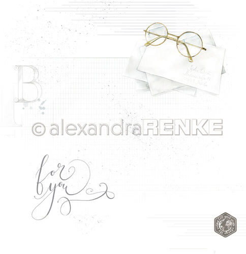 A. RENKE - Carta  'Glasses with pattern'