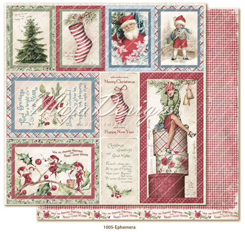 MAJA DESIGN Christmas Season - Ephemera