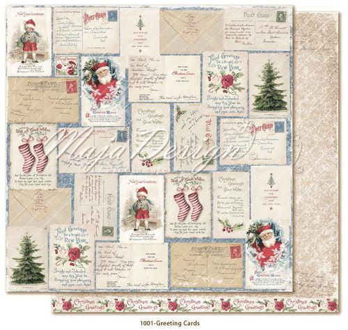 MAJA DESIGN Christmas Season - Greeting Cards