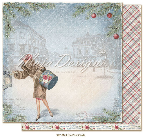 MAJA DESIGN Christmas Season - Mail the postcards
