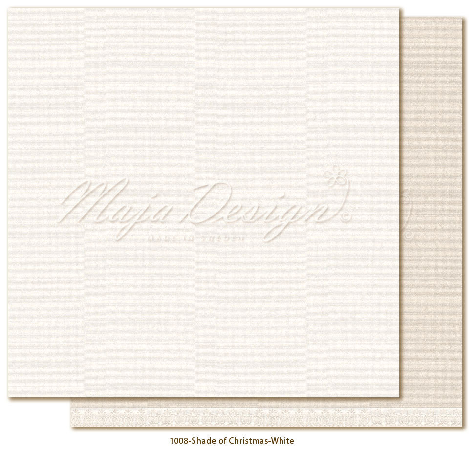 MAJA DESIGN Monochr. - Shades of Christmas-White