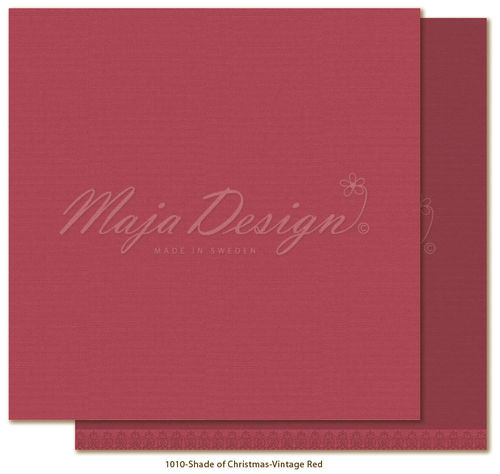 MAJA DESIGN Mono. Shades of Christmas-Vintage Red