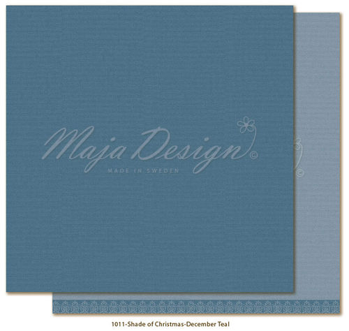 MAJA DESIGN Mono. Shades of Christmas-December Teal