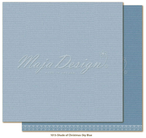 MAJA DESIGN Mono. Shades of Christmas-Skyblue