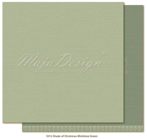 MAJA DESIGN Mono.Shades of Christmas-Mistletoe green