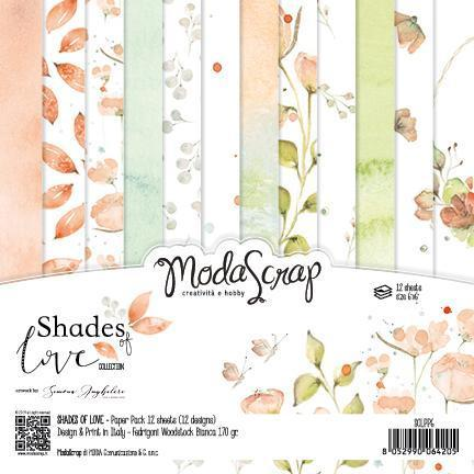 MODASCRAP - Paper Pack SHADES OF LOVE 6X6""