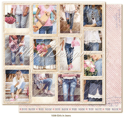 MAJA DESIGN  Denim & Girls Snapshots Girls in Jeans