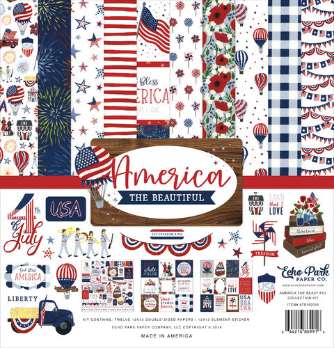 ECHO PARK  America the Beautiful - Collection Kit
