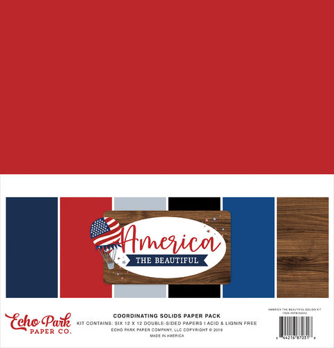 ECHO PARK  America the Beautiful - Solids Kit