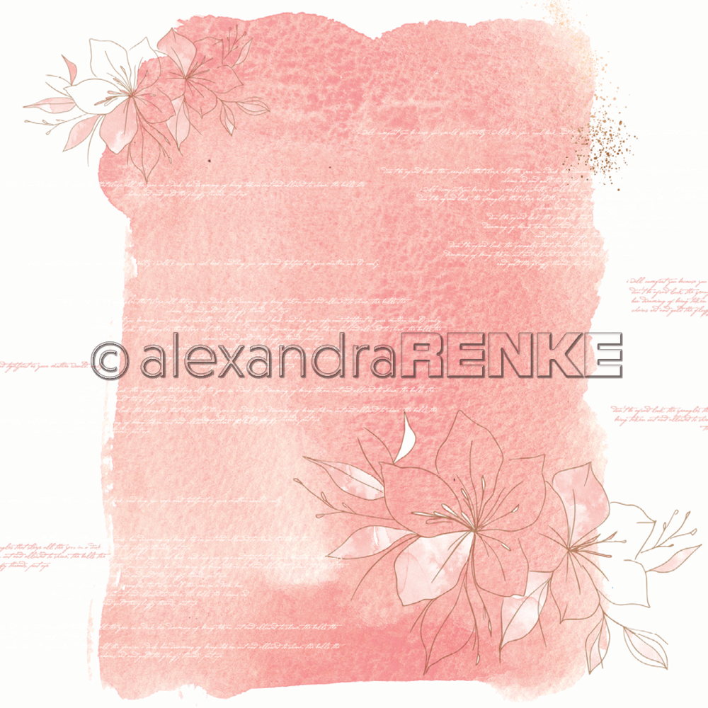 A. RENKE-paper ABSTRACT WATERC. big amaryllis coral