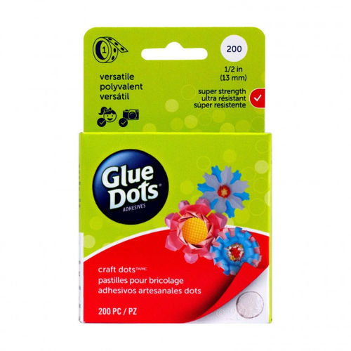 GLUE DOTS - Craft Glue Dots® Roll 13 mm