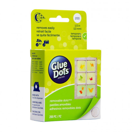 GLUE DOTS - Removable Glue Dots® Roll 13 mm