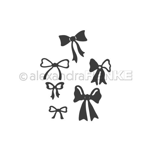 A. RENKE - Fustella GET WELL SOON 'Ribbon Set'