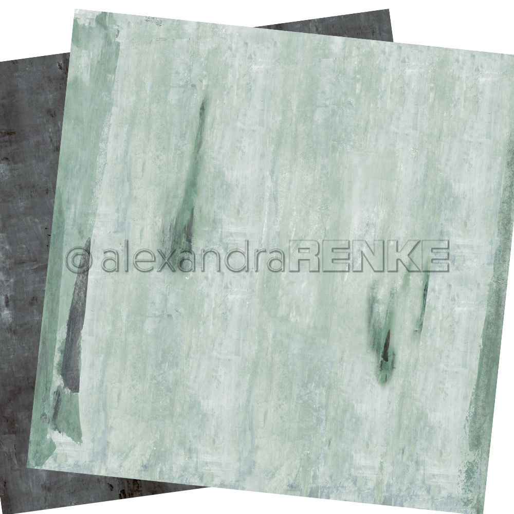 A. RENKE - Carta double-sided 'wild light mint'