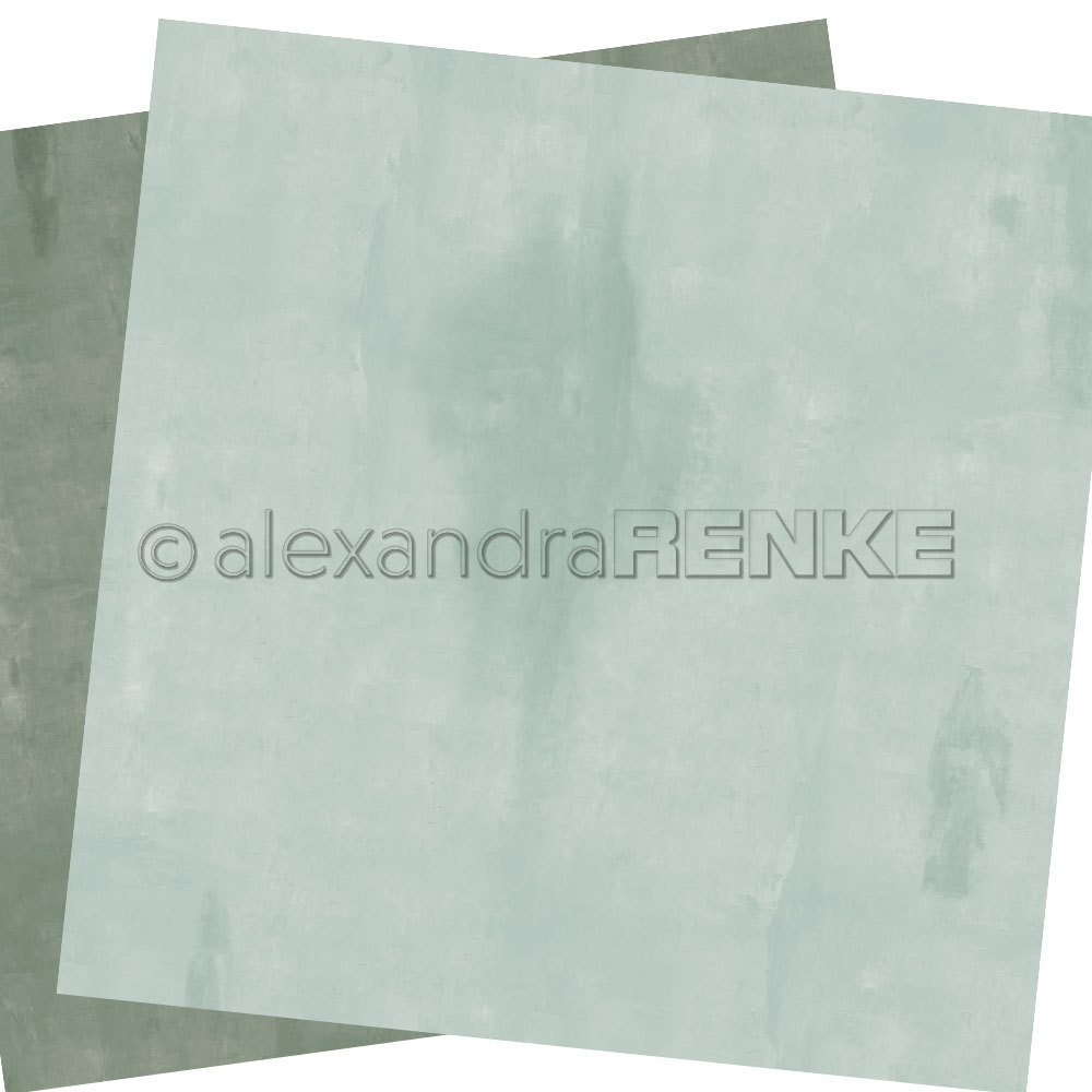 A. RENKE - Carta double-sided 'calm mint'