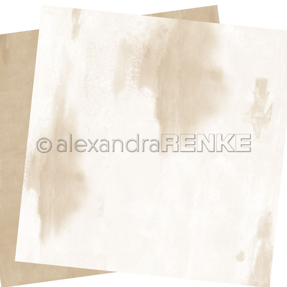 A. RENKE - Carta double-sided 'calm light beige'